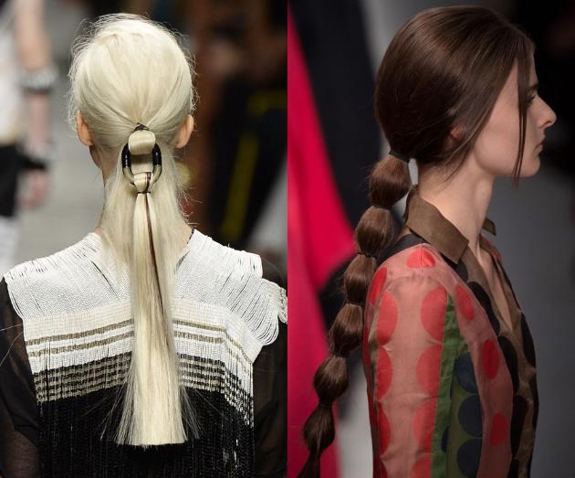 Ponytail Hairstyles 2015