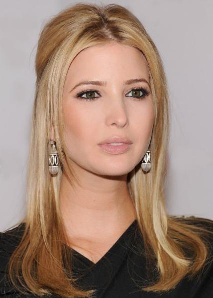 Sleek Long Blonde Hairstyle