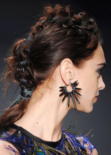 2015 Braided Hairstyle