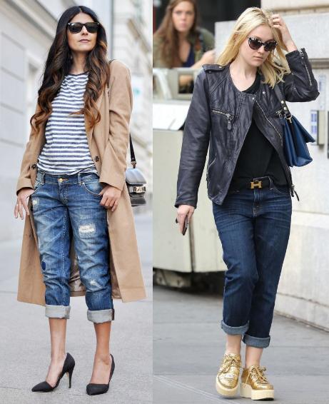 Boyfriend Jeans Trend