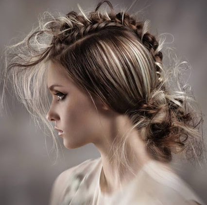 Messy Braided Hairstyle 2015