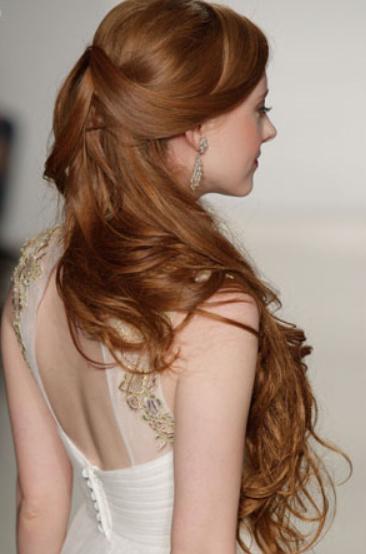 Long Bridesmaid Hairstyles 2015