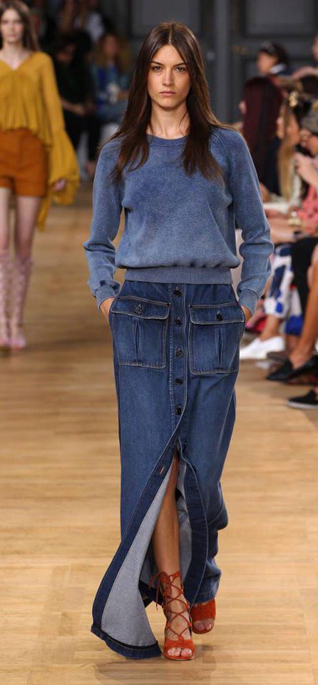 Jeans Skirt Fashion 2015
