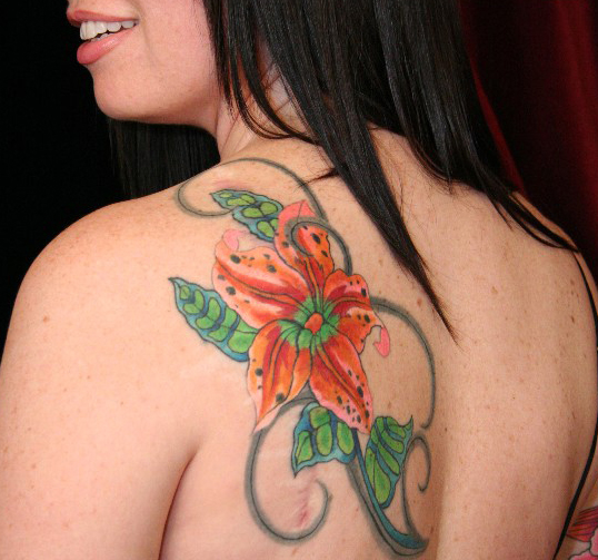 Back Tattoo Styles for Women