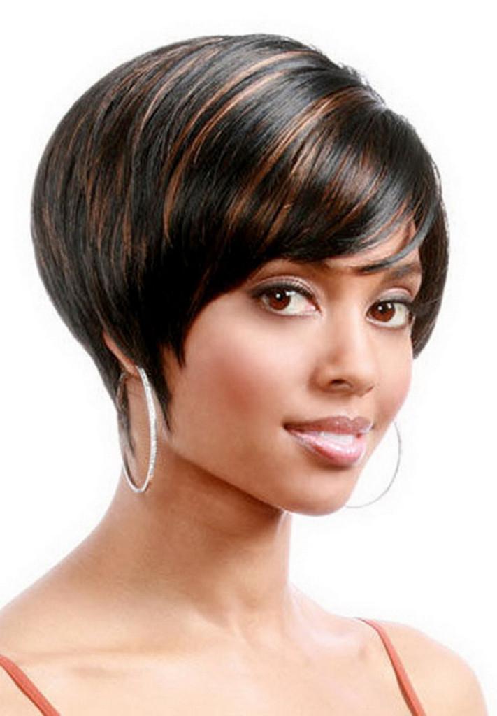 Black Women's Sleek Bob Hairstyle