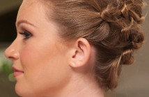 Braided Updo Hairstyle 2016
