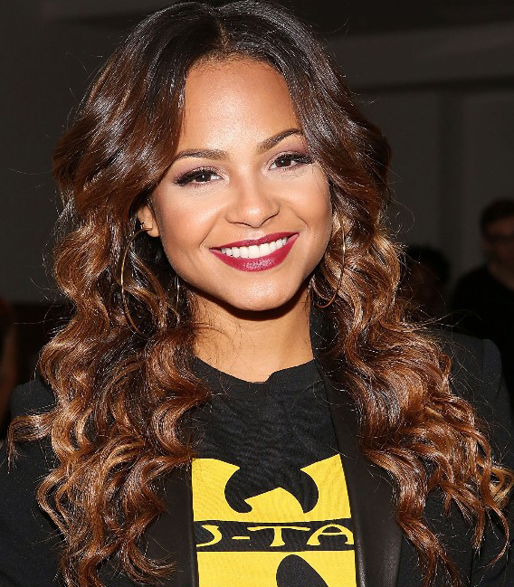 Brown Hairstyle Idea for Black women