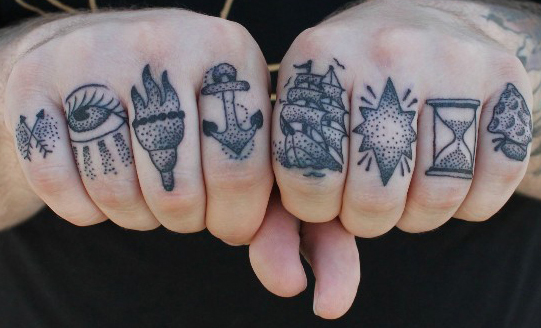 Finger Image Tattoo Styles and Trend