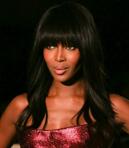 Fringed Black Women's Hairstyles