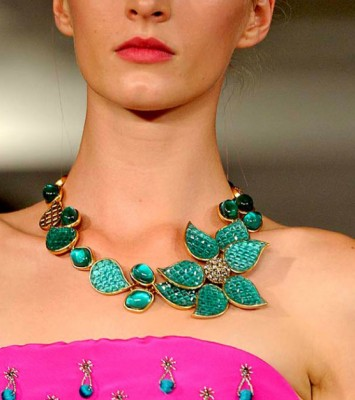 Floral 2016 Jewelry Trends