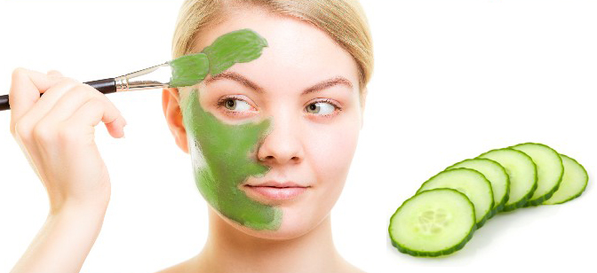 Cucumber Homemade Face Masks for Dry Skin