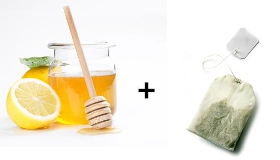 Green Tea and Lemon Mask for Skin