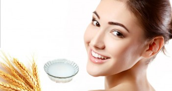 Rice water for skin care