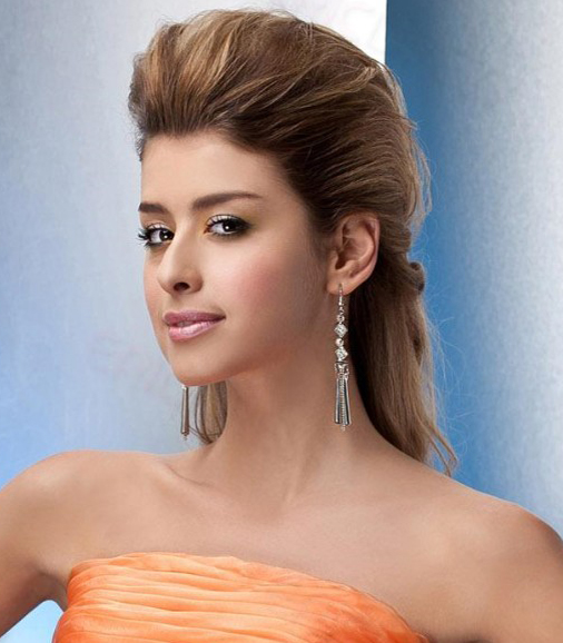 prom hairstyles 2016 with riased crown