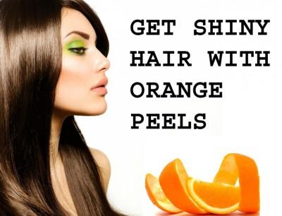 Hair Benefits of Orange Peels
