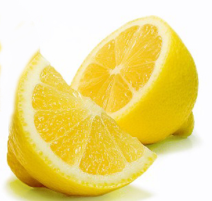 fade acne scars with lemon