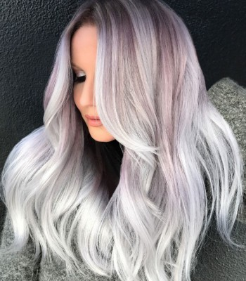 Silver 2017 Hair Color Trends